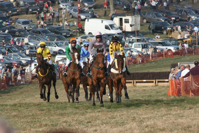 Crowds enjoy racing at Parham