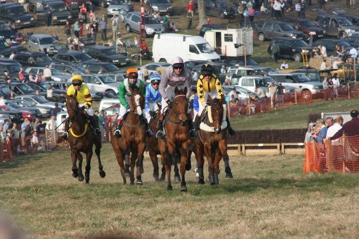 Crowds enjoy racing at Parham