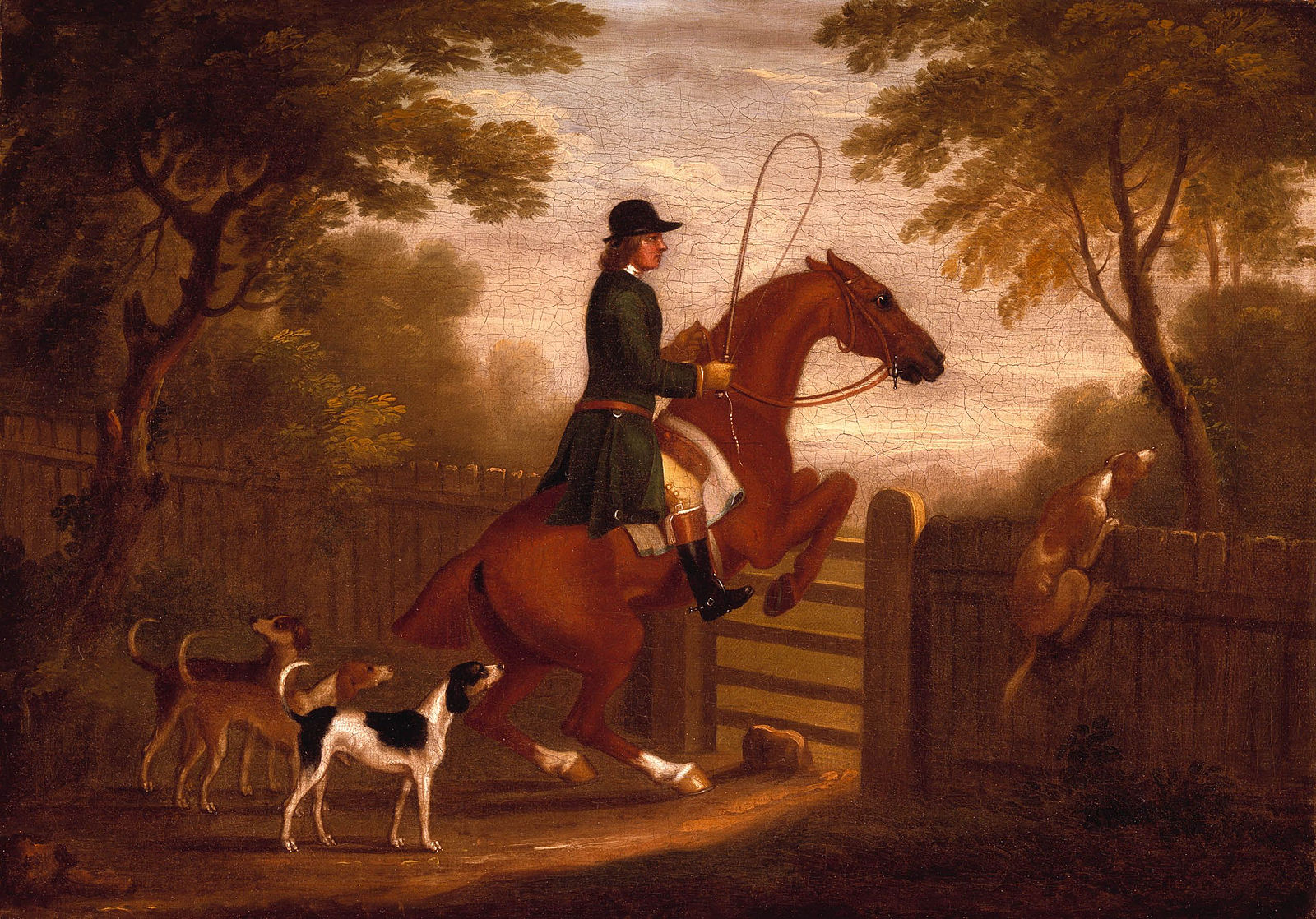 jumping_the_gate_by_james_seymour
